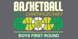 2019 NCS Basketball 1st Round BOYS