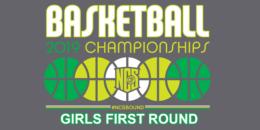 2019 NCS Basketball 1st Round GIRLS