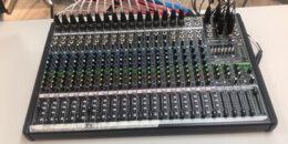 Control Room Audio Mixer feature